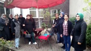 Besuch in der Tagespflege 18.11.2015 Frauengruppe Egi-Kür und Infrado e.V.